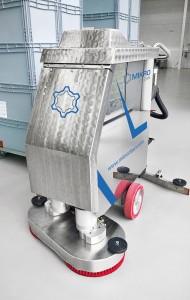Die Scheuersaugmaschine von Mikroclean