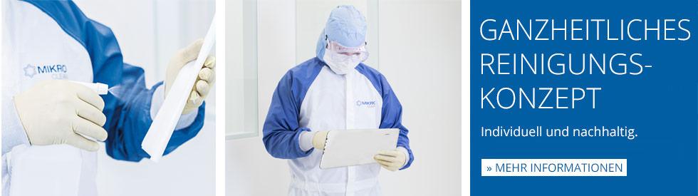 Mikroclean Reinraumreinigung: Ganzheitliches Reinigungkonzept